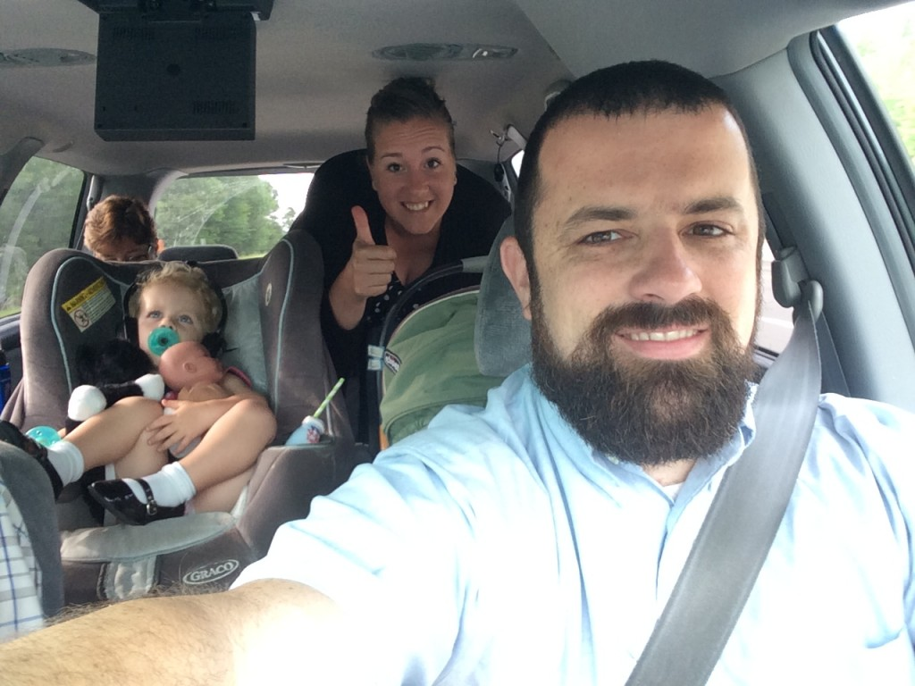All loaded up and on the way to speak at a church in Belmont, NH