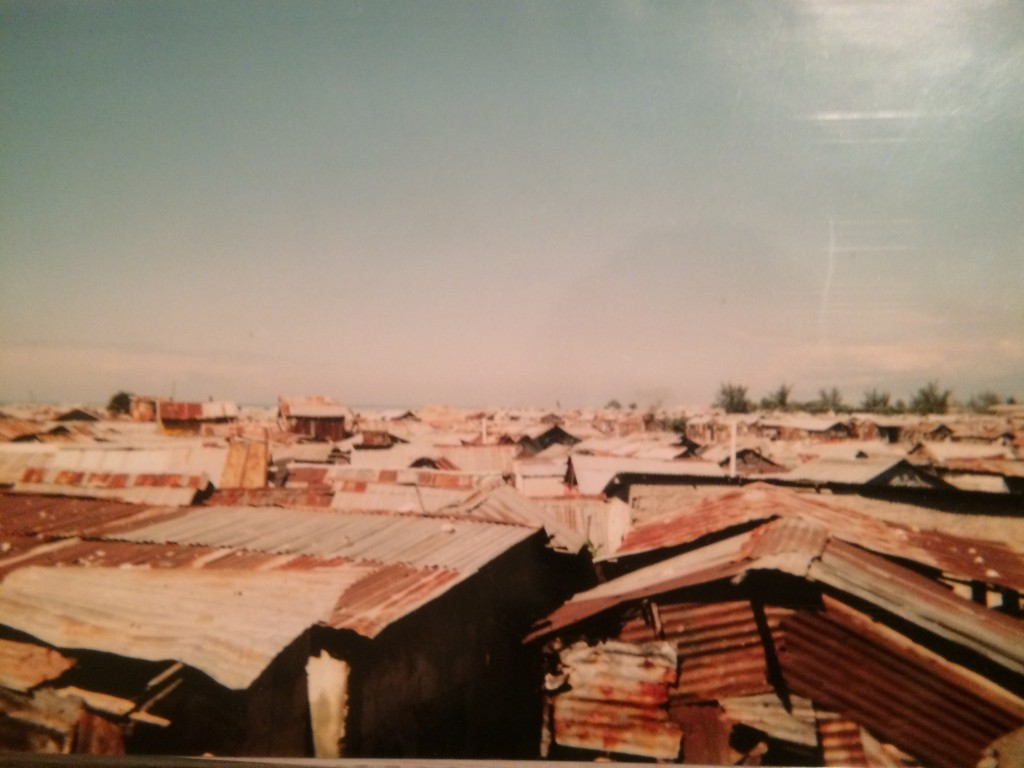 Cite Soleil, one of the poorest slums in Port-au-Prince.